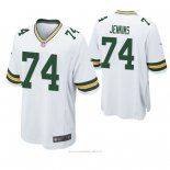 Camiseta NFL Game Hombre Green Bay Packers Elgton Jenkins Blanco