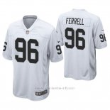 Camiseta NFL Game Hombre Oakland Raiders Clelin Ferrell Blanco