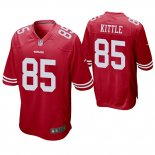 Camiseta NFL Game Hombre San Francisco 49ers George Kittle Rojo