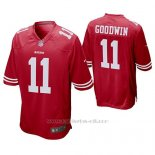 Camiseta NFL Game Hombre San Francisco 49ers Marquise Goodwin Scarlet