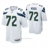 Camiseta NFL Game Hombre Seattle Seahawks Al Woods Blanco