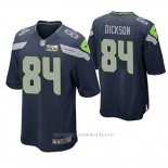 Camiseta NFL Game Hombre Seattle Seahawks Ed Dickson Pga Patch Azul