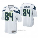 Camiseta NFL Game Hombre Seattle Seahawks Ed Dickson Pga Patch Blanco