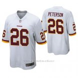 Camiseta NFL Game Hombre Washington Redskins Adrian Peterson Blanco