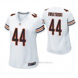 Camiseta NFL Game Mujer Chicago Bears Nick Kwiatkoski Blanco