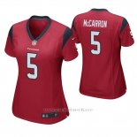 Camiseta NFL Game Mujer Houston Texans Aj Mccarron Rojo