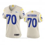 Camiseta NFL Game Mujer Los Angeles Rams Joseph Noteboom 2020 Marfil