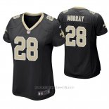 Camiseta NFL Game Mujer New Orleans Saints Latavius Murray Negro