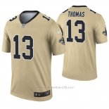 Camiseta NFL Legend Hombre New Orleans Saints 13 Michael Thomas Inverted Oro