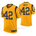 Camiseta NFL Legend Hombre St Louis Rams John Kelly Oro Color Rush
