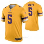 Camiseta NFL Legend Minnesota Vikings Dan Bailey Inverted Oro