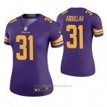 Camiseta NFL Legend Mujer Minnesota Vikings Ameer Abdullah Violeta Color Rush