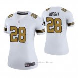 Camiseta NFL Legend Mujer New Orleans Saints Latavius Murray Blanco Color Rush