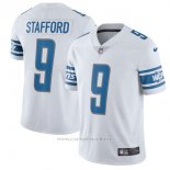Camiseta NFL Limited Hombre 9 Stafford Detroit Lions Blanco
