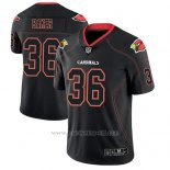 Camiseta NFL Limited Hombre Arizona Cardinals Budda Baker Negro Color Rush 2018 Lights Out