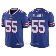 Camiseta NFL Limited Hombre Buffalo Bills Jerry Hughes Azul Vapor Untouchable Player