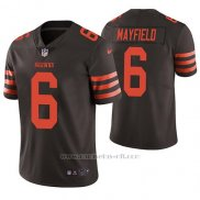 Camiseta NFL Limited Hombre Cleveland Browns Baker Mayfield Marron Vapor Untouchable