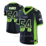 Camiseta NFL Limited Hombre Seattle Seahawks Bobby Wagner Azul 2018 Drift Fashion Color Rush