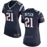 Camiseta New England Patriots Butler Negro Nike Game NFL Mujer