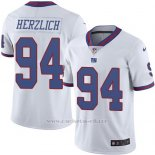 Camiseta New York Giants Herzlich Blanco Nike Legend NFL Hombre