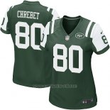 Camiseta New York Jets Chrebet Verde Nike Game NFL Mujer