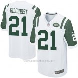 Camiseta New York Jets Gilchrist Blanco Nike Game NFL Hombre