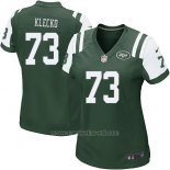 Camiseta New York Jets Klecko Verde Nike Game NFL Mujer