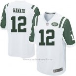 Camiseta New York Jets Namath Blanco Nike Game NFL Nino