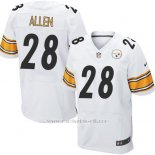 Camiseta Pittsburgh Steelers Allen Blanco Nike Elite NFL Hombre
