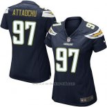 Camiseta San Diego Chargers AttaochuNegro Mujer Nike Game NFL