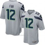 Camiseta Seattle Seahawks Fan Gris Nike Game NFL Nino