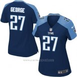 Camiseta Tennessee Titans George Azul Oscuro Nike Game NFL Mujer