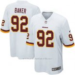Camiseta Washington Redskins Baker Blanco Nike Game NFL Hombre
