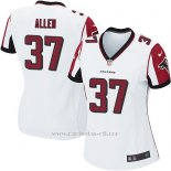Camiseta Atlanta Falcons Allen Blanco Nike Game NFL Mujer