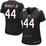 Camiseta Atlanta Falcons Beasley Jr Nike Game NFL Negro Mujer