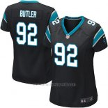 Camiseta Carolina Panthers Butler Negro Nike Game NFL Mujer