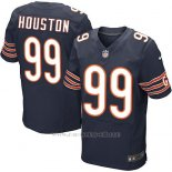 Camiseta Chicago Bears Houston Profundo Azul Nike Elite NFL Hombre
