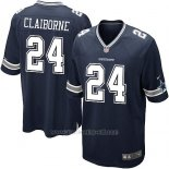 Camiseta Dallas Cowboys Claiborne Negro Nike Game NFL Nino