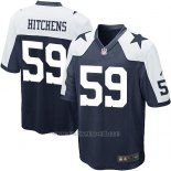 Camiseta Dallas Cowboys Hitchens Negro Blanco Nike Game NFL Nino