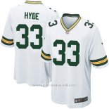 Camiseta Green Bay Packers Hyde Blanco Nike Game NFL Nino