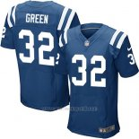 Camiseta Indianapolis Colts Green Azul Nike Elite NFL Hombre
