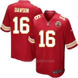 Camiseta Kansas City Chiefs Dawson Rojo Nike Game NFL Nino