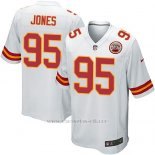 Camiseta Kansas City Chiefs Jones Blanco Nike Game NFL Nino