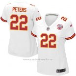 Camiseta Kansas City Chiefs Peters Blanco Nike Game NFL Mujer