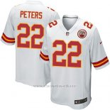 Camiseta Kansas City Chiefs Peters Blanco Nike Game NFL Nino