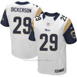 Camiseta Los Angeles Rams Dickerson Blanco Nike Elite NFL Hombre