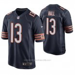 Camiseta NFL Game Hombre Chicago Bears Marvin Hall Azul