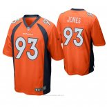 Camiseta NFL Game Hombre Denver Broncos Dre'mont Jones Naranja