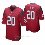 Camiseta NFL Game Hombre Houston Texans Justin Reid Rojo