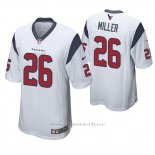 Camiseta NFL Game Hombre Houston Texans Lamar Miller Blanco